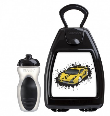 Racing car lunchbox with free bottle