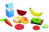 Delightful Wooden Stacking Lunch Toy