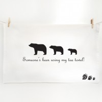 Goldilocks and the Three Bear Tea towels - My Tea Towel