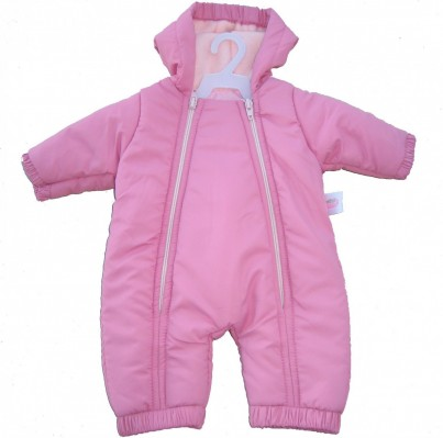 Warm Pink Snowsuit