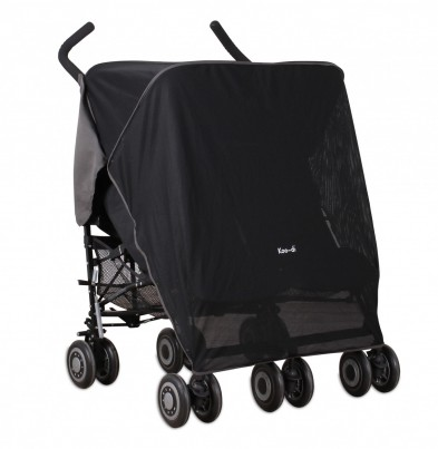 DOUBLE SUN & SLEEP STROLLER COVER