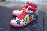 Skribbies Pink Customisable Whiteboard Trainers