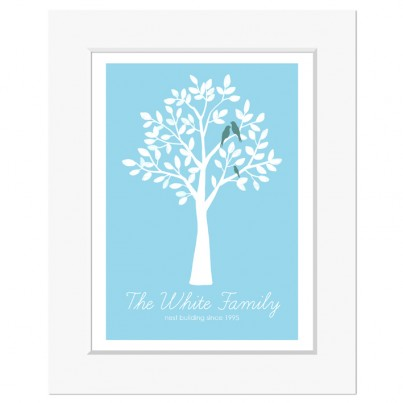 Personalised Family Print: Tree