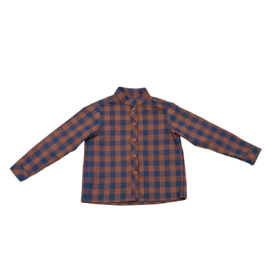 BOYS HUGO SHIRT IN BLUE