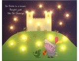 George the Knight with starry sky - Personalise Yours Today