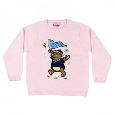 """Benny The Bear"" Knitted Kids Jumpers"
