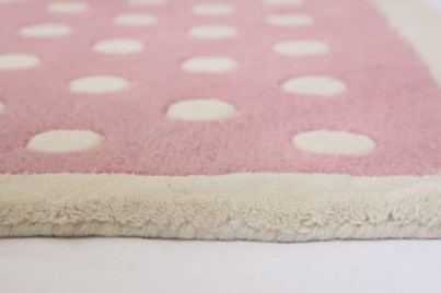 Babyface Pink Dotty Large Rug