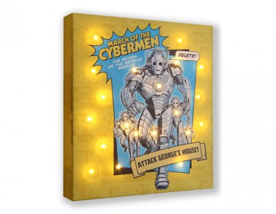 Dr Who Cyberman - Personalise Yours Today