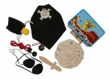 Pirate Dressing Up Outfit and Accessories in Keepsake Tin