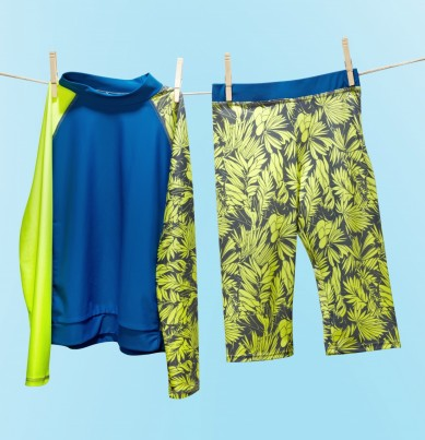 Pairs with our tropical print crop pant (sold separately) for maximum sun protection - UV 50+.