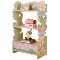 Teamson Magic Garden Bookcase