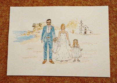 Personalised Wedding Painting
