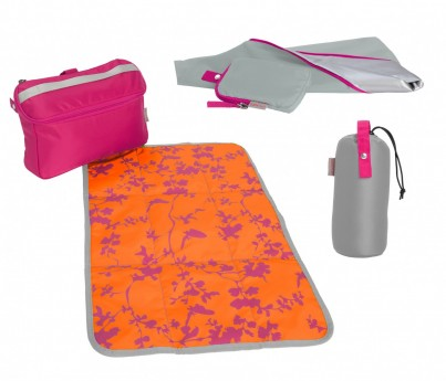 Babymule Essentials kit - Pink & Orange