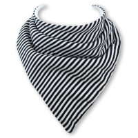 Baby dribble bib by Babble Bib Black Stripes