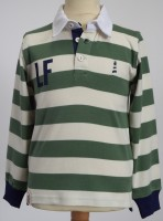 Sheringham Point Rugby Shirt - Mushy Pea Green