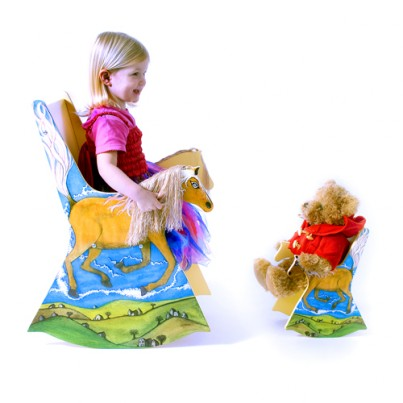 Pip the Pony Rocking Chair and Toy sized Pip the Pony Chair