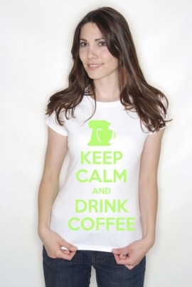 Keep Calm and Drink Coffee Adult T Shirts Personalised If Required Lots Of Colours Fast Dispatch