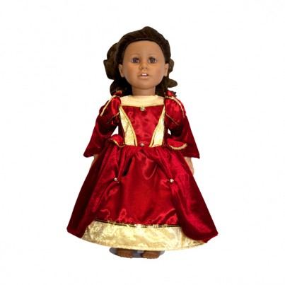 Doll - Medieval Queen Dress