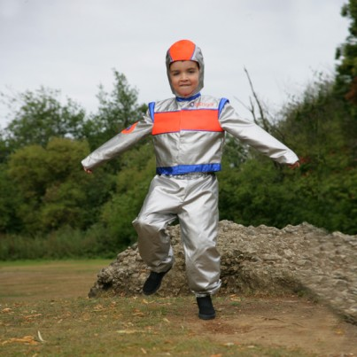 Astronaut/Racing Driver 2 in 1 Style Costume