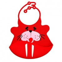 Catch All Baby and Toddler Bib - Sammy Seal