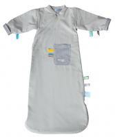 Sleepsuit 3-9 months, detachable sleeve Storm Grey
