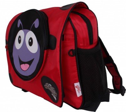 Polka the Ladybird Soft School Backpack