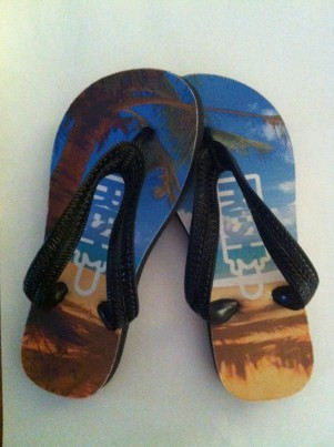 "Exclusive Buy Fresh Clothing's ""FRESH"" Kids Flip Flops"