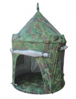 UV Protected Pop Up Tent for Indoors or Outdoors - Camouflage