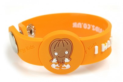 """I Have A Nut Allergy"" Awareness wristband"