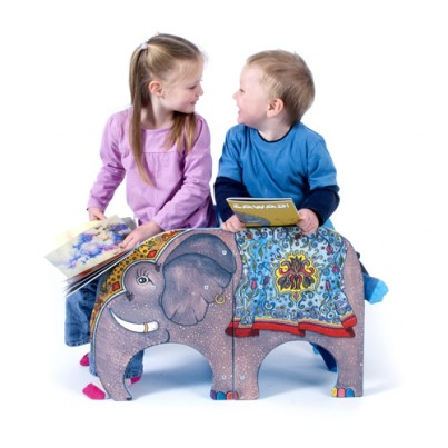 Zawadi The Elephant Twin Chairs