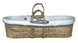 Baby Basket (incl mattress)  Off white