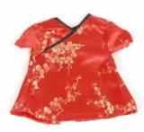Oriental Style Red Dress