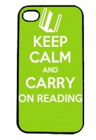 Keep Calm and Carry On Reading IPhone Case Will Fit iPhone 4, 4s & 5