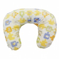 Multi Purpose Nursery & Feeding Cushion - JIGSAW design