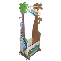 Teamson Dinasaur Clothes Rack