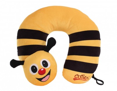 Cazbi the Bee Plush Neck Pillow
