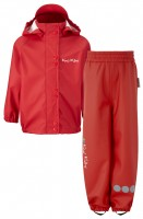 PU Essential Rain Set Unlined Sport Red