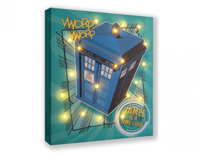 Dr Who Tardis - Personalise Yours Today