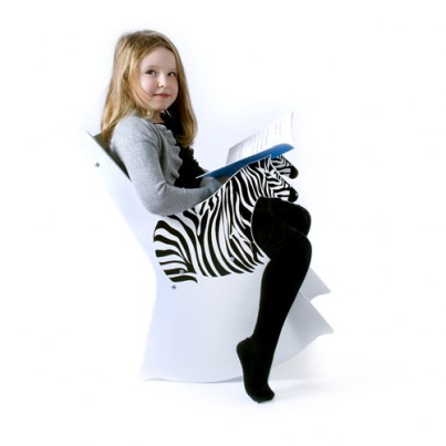 Ziggy the Zebra Rocking Chair