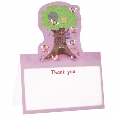 Fairy Tree Standup Thank You Cards (pack of 5)