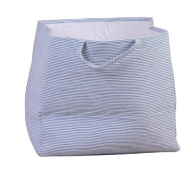 Babyface Blue Candy Stripe Storage Bag