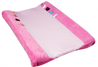 Changing Cover - Happy Dressing (45x70cm) Blossom Pink