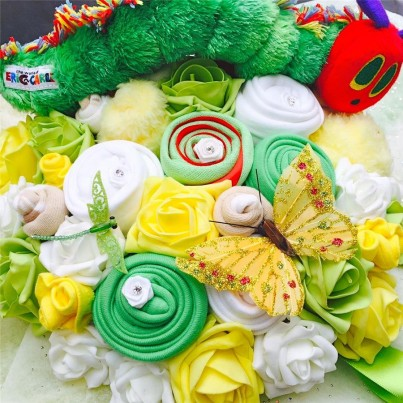 Hungry Caterpillar Baby Clothing Bouquet - Baby Shower gift