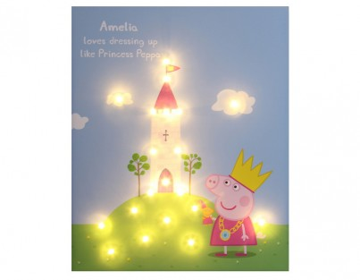 Princess Peppa - Personalise Yours Today