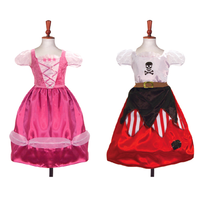Princess/Pirate Reversible 2 in 1 Style