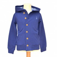 Squirrel Point Hoodie in Navy award winning