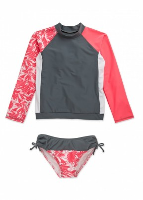 Pair it with our tropical print long sleeve swim shirt for all day UV 50+ coverage.