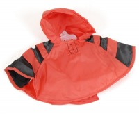 Red Waterproof Cape