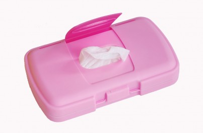 b.box THE ESSENTIAL BABY CHANGING BOX - Pink