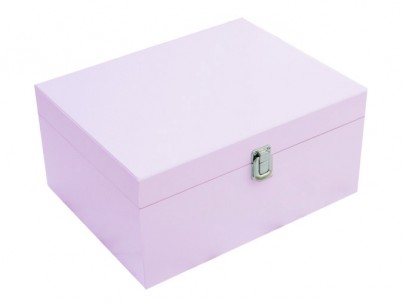 Large Storage Box in Pink